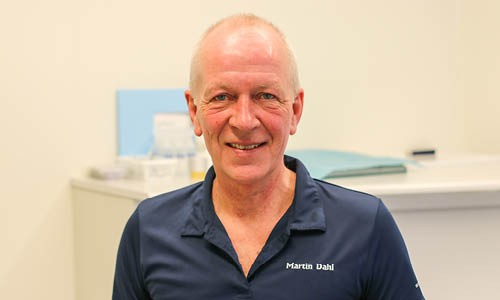 Teamet omkring specialtandlæge i tand, mund og kæbekirurgi, Martin Dahl
