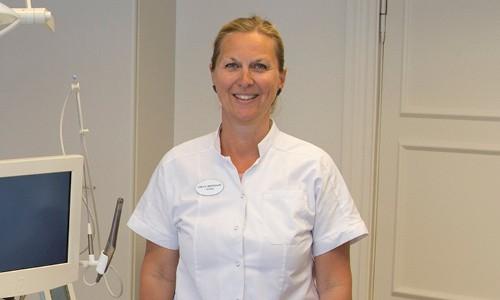 Teamet omkring tandlæge Camilla Søndergaard