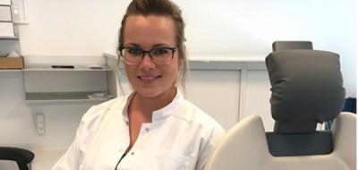 Teamet omkring Tandlæge Cæcilie Jøker